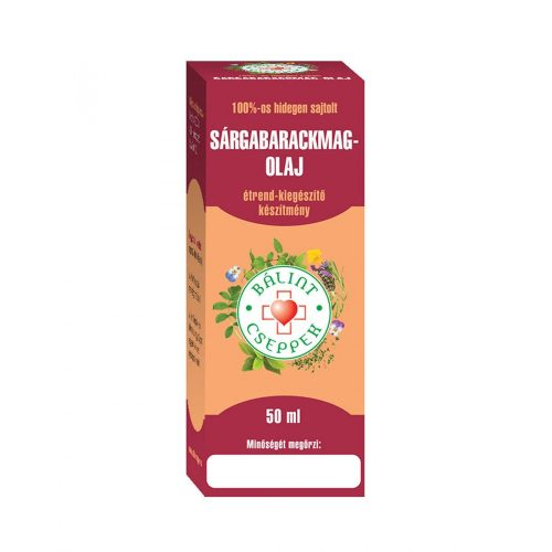 Bálint sárgabarackmag-olaj 50 ml