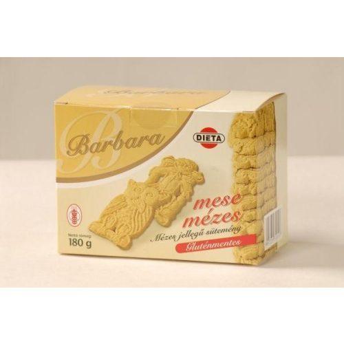 Barbara gluténmentes mézes teasütemény