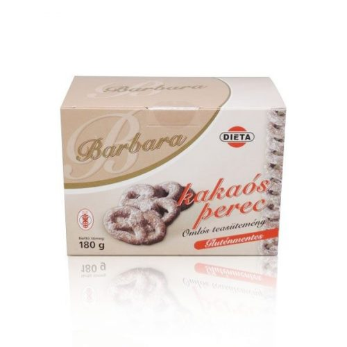 Barbara gluténmentes kakaós perec