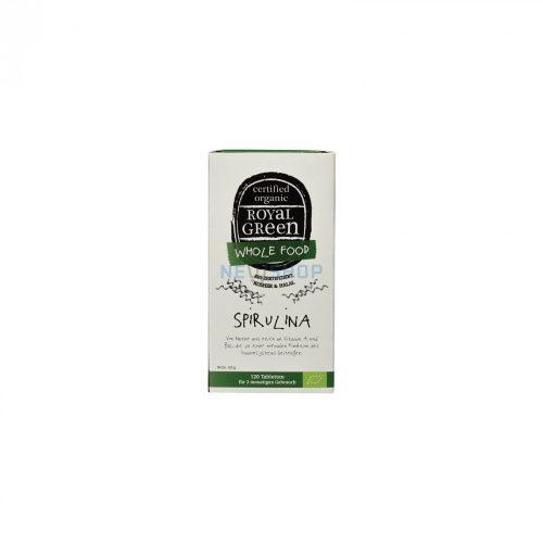Royal green spirulina étrend-kiegészítő tabletta 120db