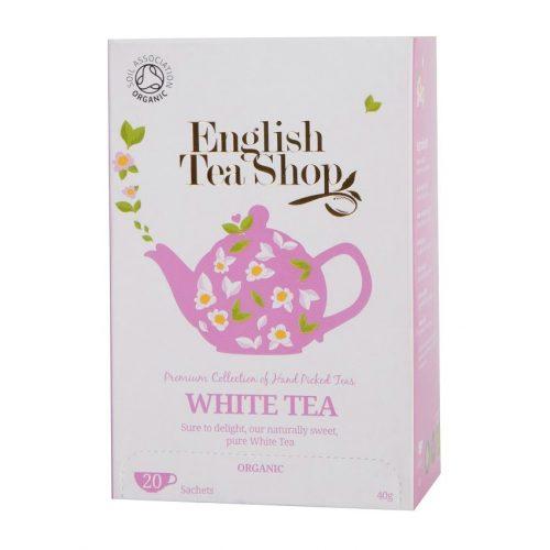 English Tea Shop (ETS) 20 bio fehér tea