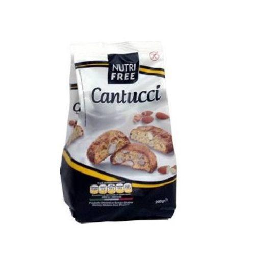 Nutri free cantucci mandulás keksz
