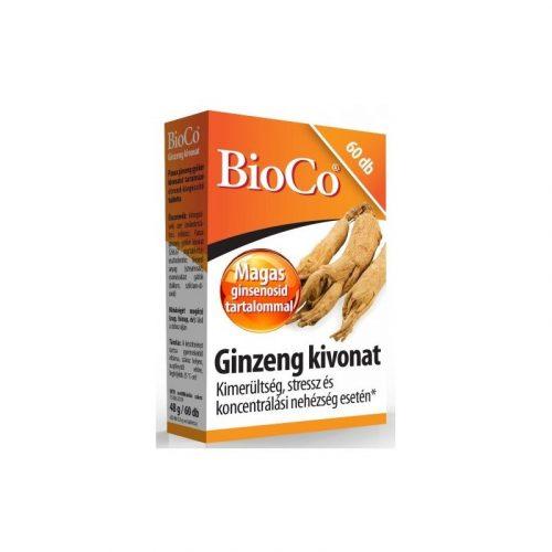 Bioco ginzeng tabletta