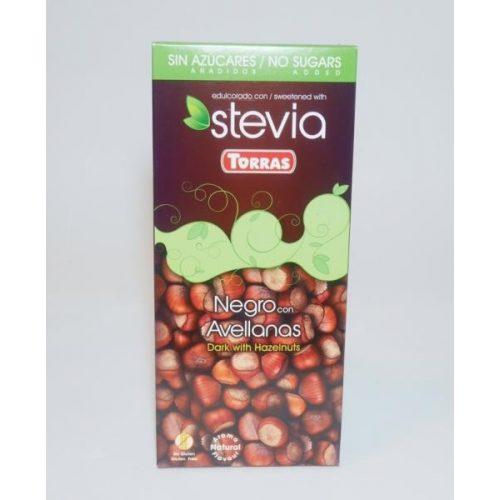 Torras stevia 03. Étcsokoládé mogyorós