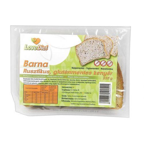 Love diet rusztikus barna kenyér