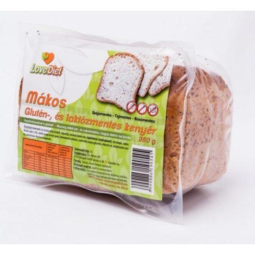 Love diet mákos friss kenyér
