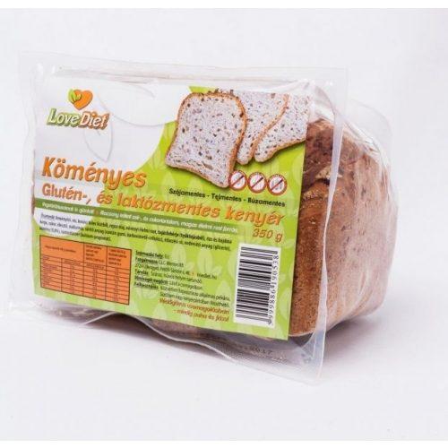 Love diet köményes friss kenyér